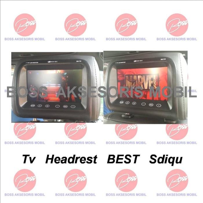 harga Monitor headrest tv jok mobil headrest bantalan mobil best sdiqu Tokopedia.com