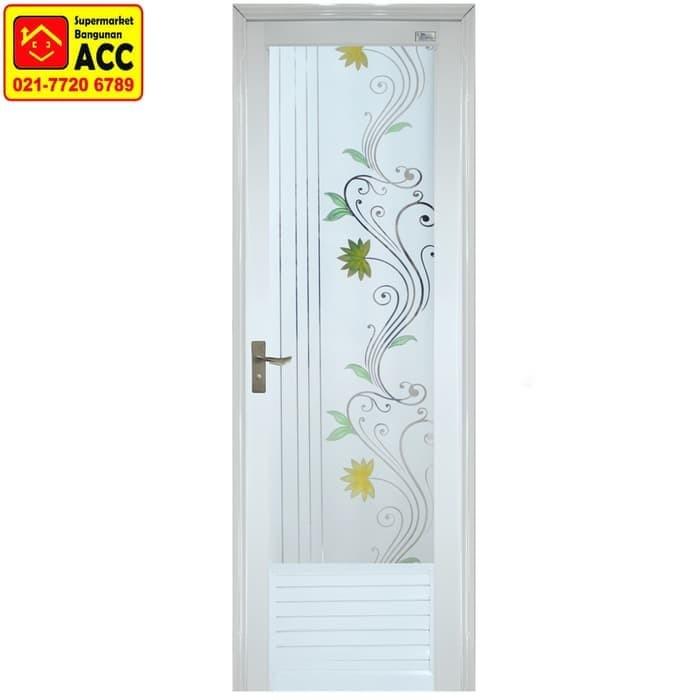 Pintu Aluminium Kamar Mandi Medan