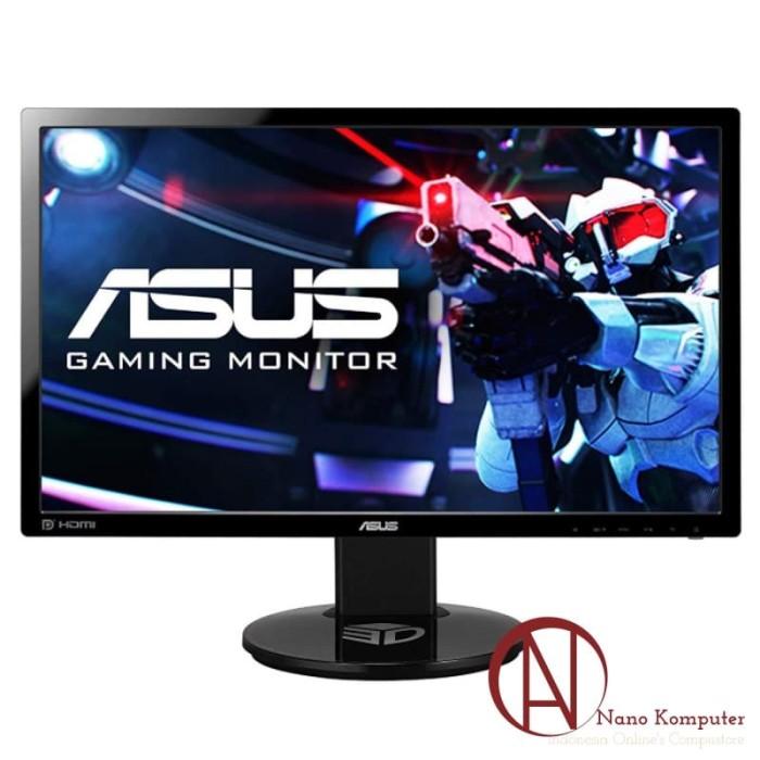 harga Asus gaming monitor vg248qe 24  fhd tn 144hz 1ms nvidia 3d vision Tokopedia.com