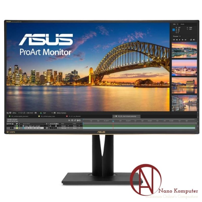 harga Asus professional monitor pa329q 32  4k uhd ips 60hz 5ms Tokopedia.com