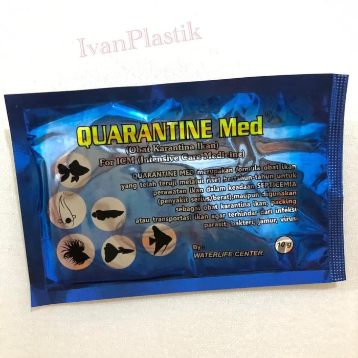 Jual Quarantine Med Obat Karantina Ikan Kota Depok Ivanplastik Tokopedia