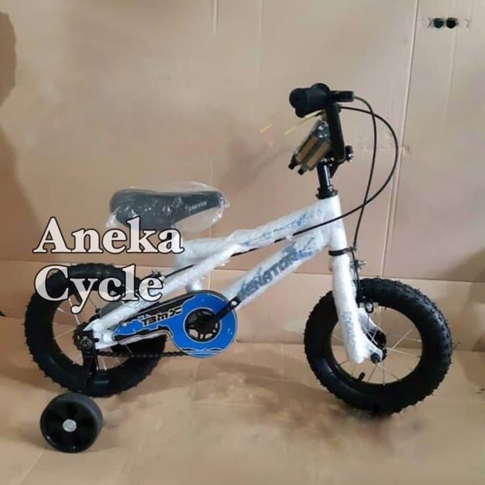harga Sepeda anak bmx 12 senator sepeda anak cowok roda empat sepeda murah Tokopedia.com