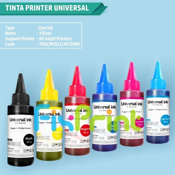 Foto Produk Tinta Canon Tinta Epson Tinta HP Universal Ink (Tinta Dye Based) - Hitam dari FixPrint Jakarta