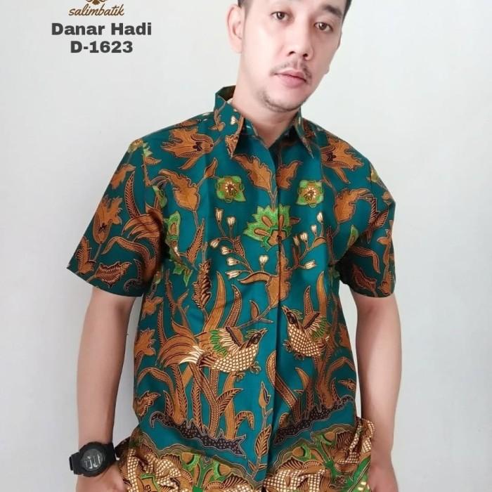 harga Size m lengan pendek batik danar hadi motif ekslusif Tokopedia.com