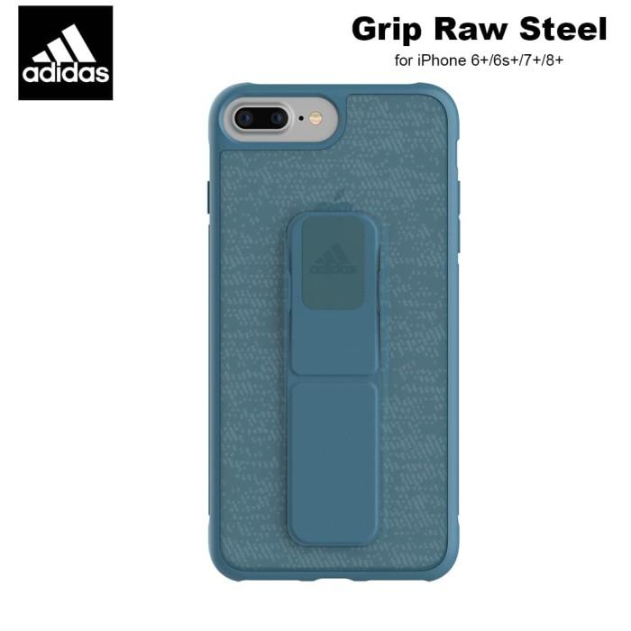 new style c8d30 29829 Jual Adidas Performance Grip Case iPhone 8+ - Raw Steel - Kota ...