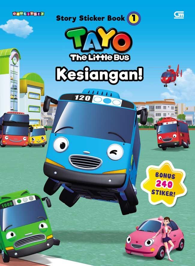 Jual Tayo The Sticker Bus 1 Tayo The Little Bus Kesiangan Jakarta Barat Bukugalileo Tokopedia