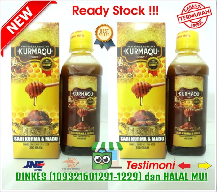 Foto Produk KURMAQU - Sari Kurma Dan Madu 350gr - Quality Premium - ASLI ORIGINAL dari QnC Walatra