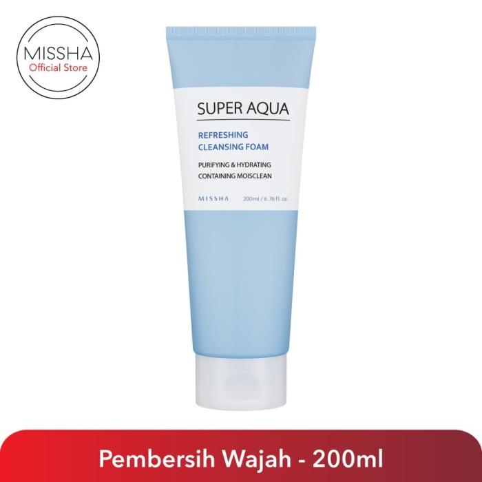 Foto Produk Missha Super Aqua Refreshing Cleansing Foam dari Missha Indonesia