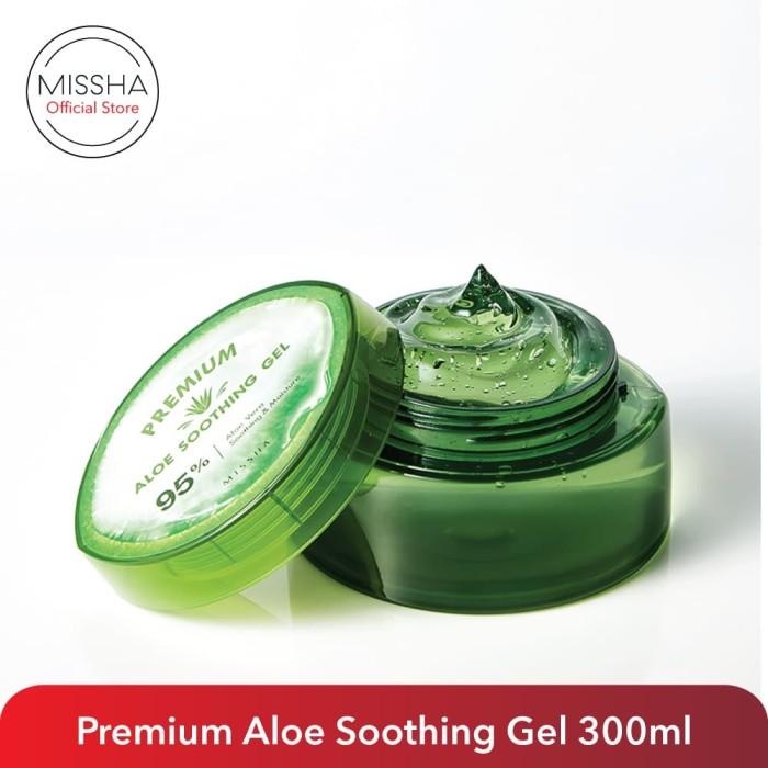 Foto Produk Missha Premium Aloe Soothing Gel (300ml) dari Missha Indonesia