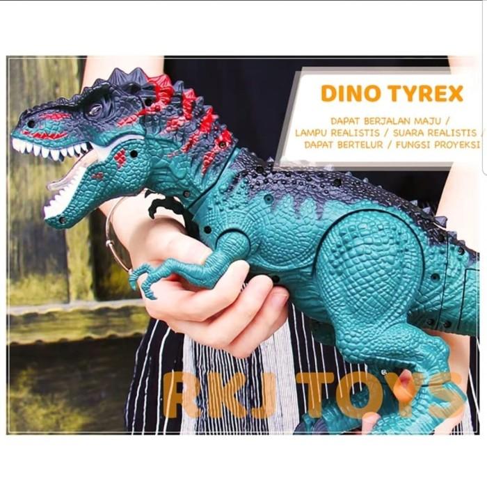 Foto Produk Mainan dinosaurus bertelur dino t-rek dino saurus murah kado hadiah dari aneka barang murah 2