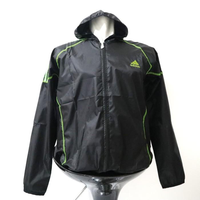 harga Jaket olahraga running gym sepeda pria dan wanita adidas parasut Tokopedia.com