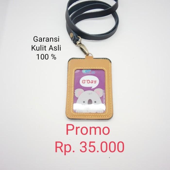 harga Name tag - id card - card holder full kulit asli nt.02 Tokopedia.com
