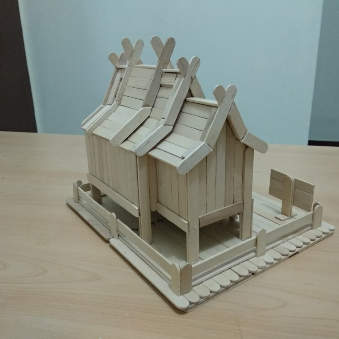 470+ Gambar Miniatur Rumah Betang Terbaik