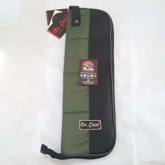 Foto Produk Dr.Case DR-PSBG - Green Practice Drum Stick Bag dari FrankieDrumShop