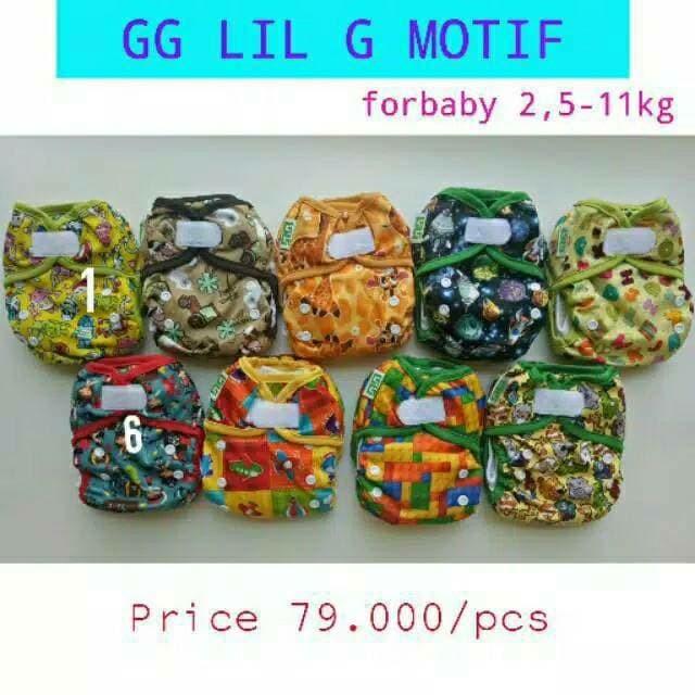 harga Clodi gg lil g motif + 2 insert mikrofiber new born cloth diaper Tokopedia.com