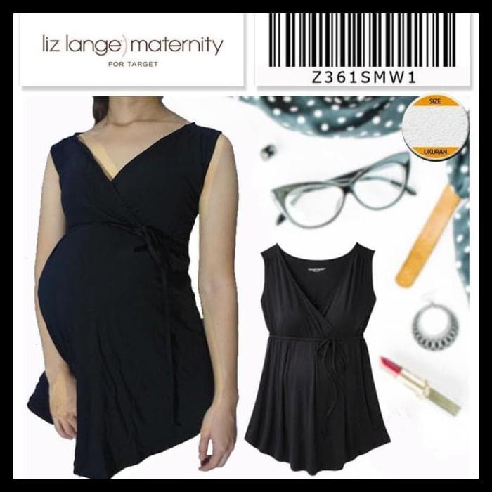 Liz Lange Maternity Jegging Under Belly Fitted Hip Thigh Stretch Black Size L XL