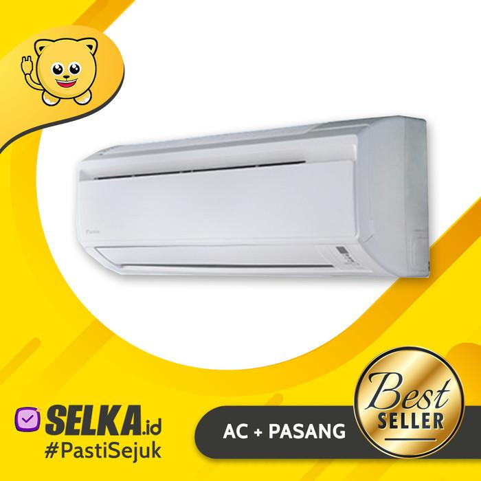 harga Daikin ftv25bxv14 +pasang 1 3m / ac split 1 pk standar malaysia putih Tokopedia.com