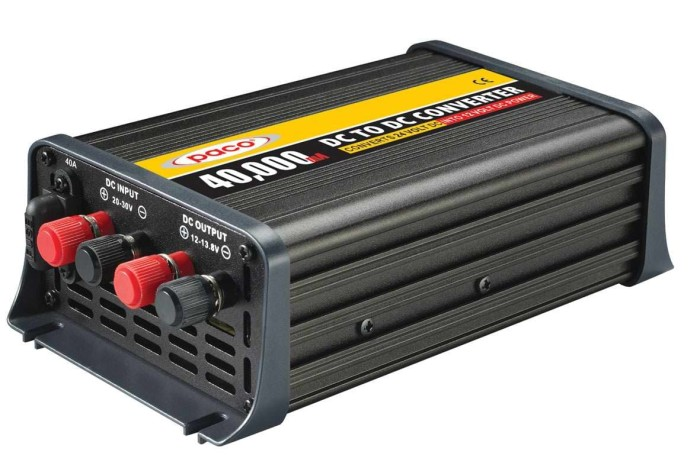 Foto Produk DC to DC step down - DC converter 40Amp dari auto electric store