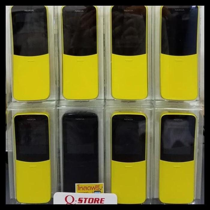 Foto Produk Mantull Nokia 8110 4G Dual Sim / Nokia Pisang Garansi Distributor - dari Rasyid Home Store