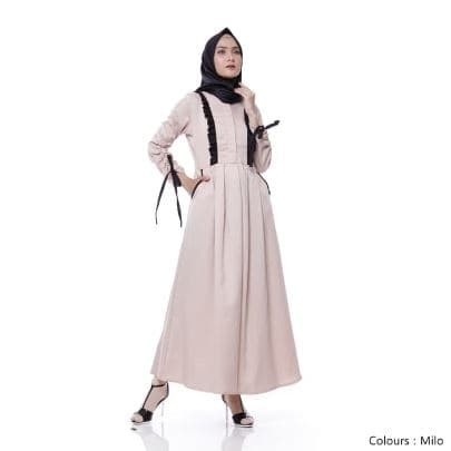 Jual Baju Muslim Wanita Cewek Muslimah Gamis Syar I Maxi Terbaru Promo Jakarta Barat Makrifat Market Tokopedia
