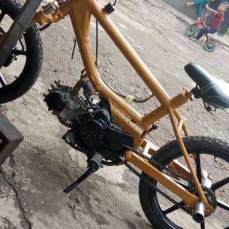 Gambar Modifikasi Sepeda Bmx Menjadi Drag Jual Jasa Modifikasi Bmx Motor Kota Bekasi Cepz Crane Tokopedia