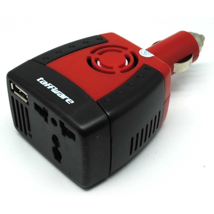 harga Power car inverter mobil 150w 220v ac eu plug 5v usb charger Tokopedia.com