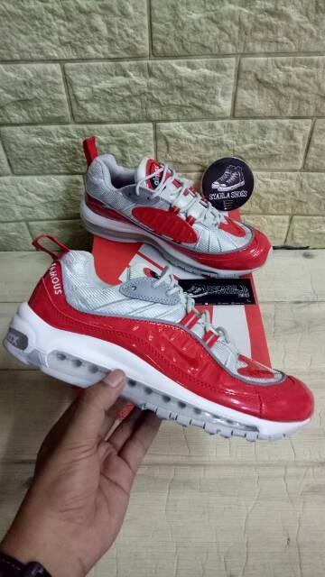 Supreme x Nike Air Max 98 Release Date Sneaker Bar Detroit