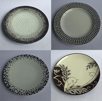 Foto Produk Piring kue motif|piring hias|Export Murah|Salad Motif Jadul1 dari GALAXY HouseholdCeramics