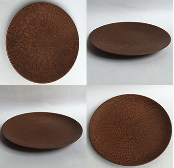 Foto Produk Piring motif kayu|piring hias|Ekspor Murah|Dinner Motif Avet/Autentic dari GALAXY HouseholdCeramics