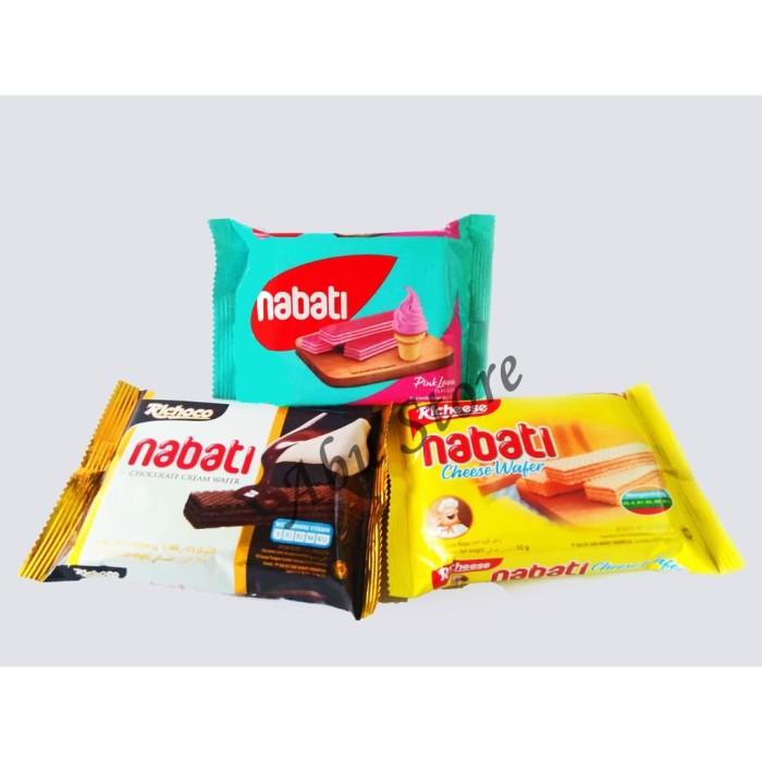 Jual Richeese Richoco Nabati Keju Coklat Pink Lava Ekonomis 50gr Kota Medan Hijriah Store Tokopedia