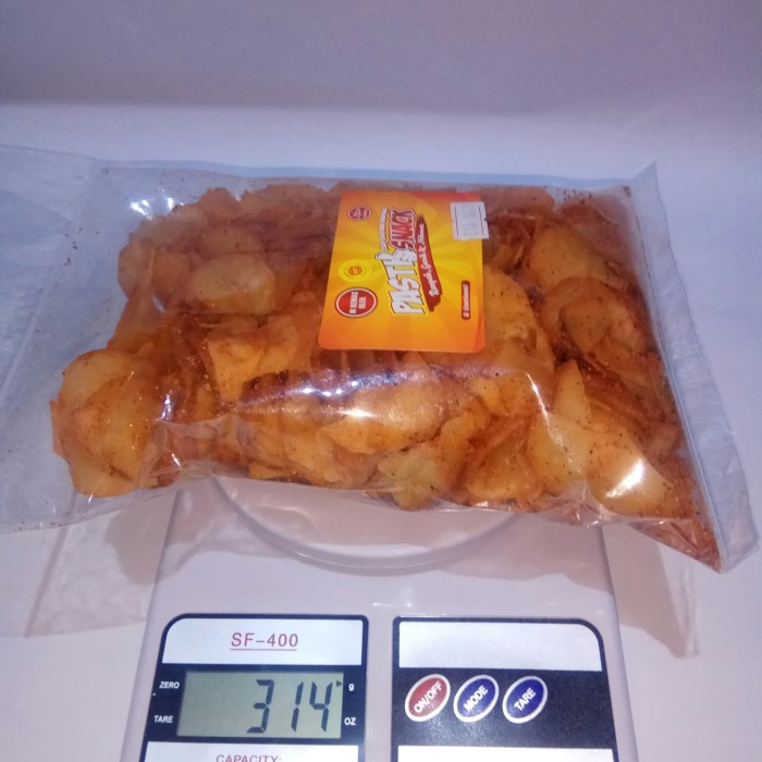 Jual Cemilan Sehat Keripik Singkong Balado Snack Murah Makanan