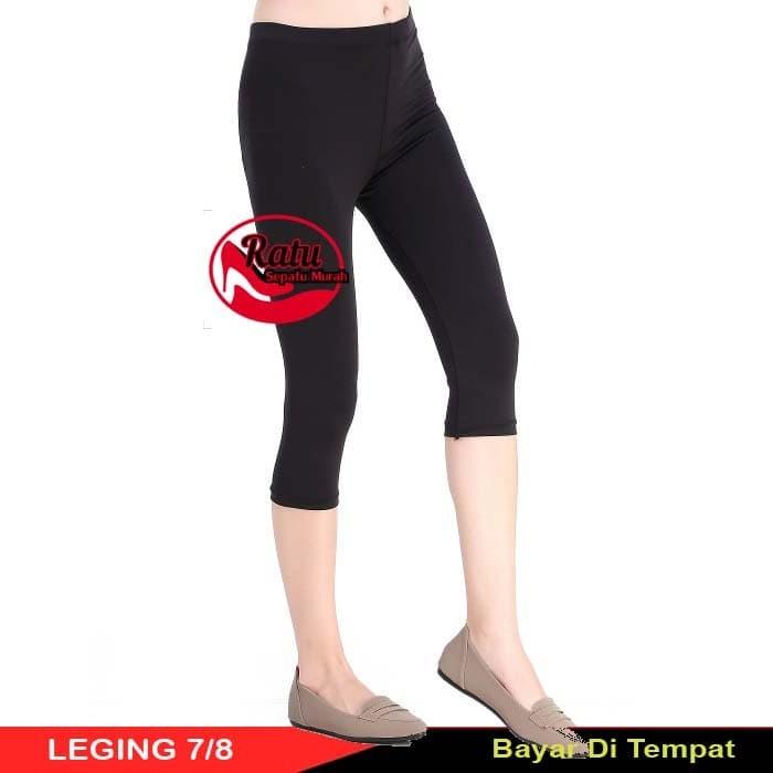Jual Celana Legging Leging Pendek Selutut All Standard Harga Grosir Hitam Kota Depok Ratusepatumurah Tokopedia