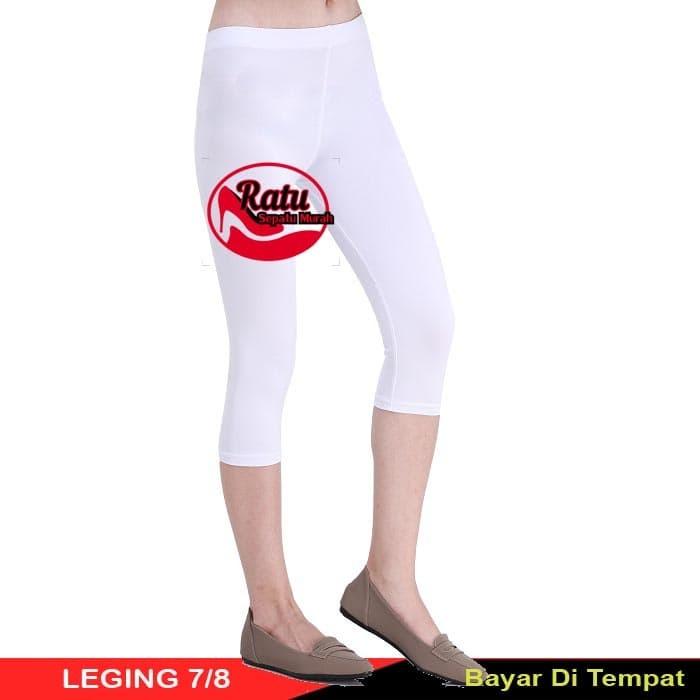 Jual Celana Legging Leging Pendek Selutut All Standard Harga Grosir Putih Kota Depok Ratusepatumurah Tokopedia
