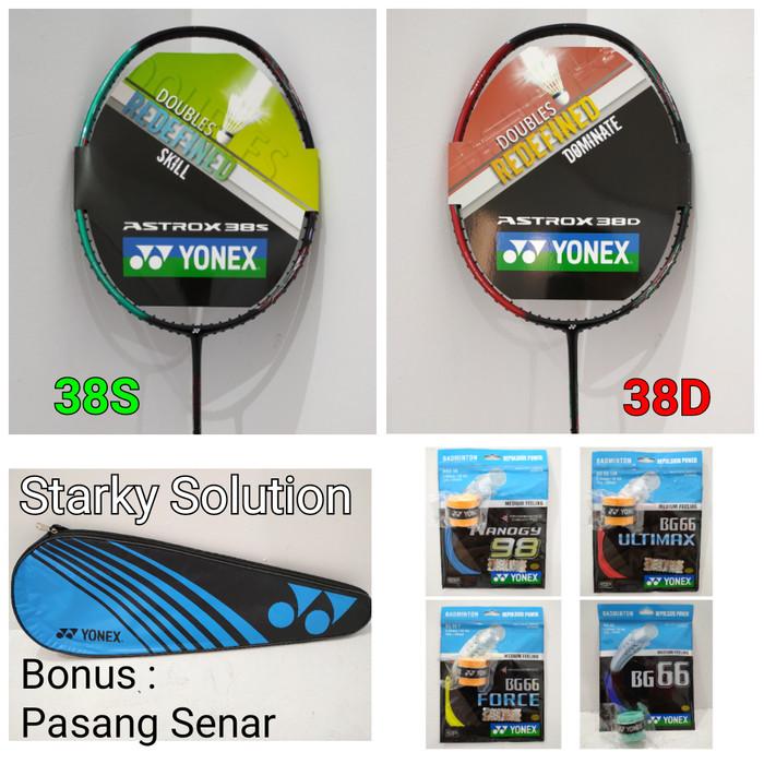 harga Yonex astrox 38 38s 38d raket bg66 bg 66 ultimax force nanogy 98 Tokopedia.com