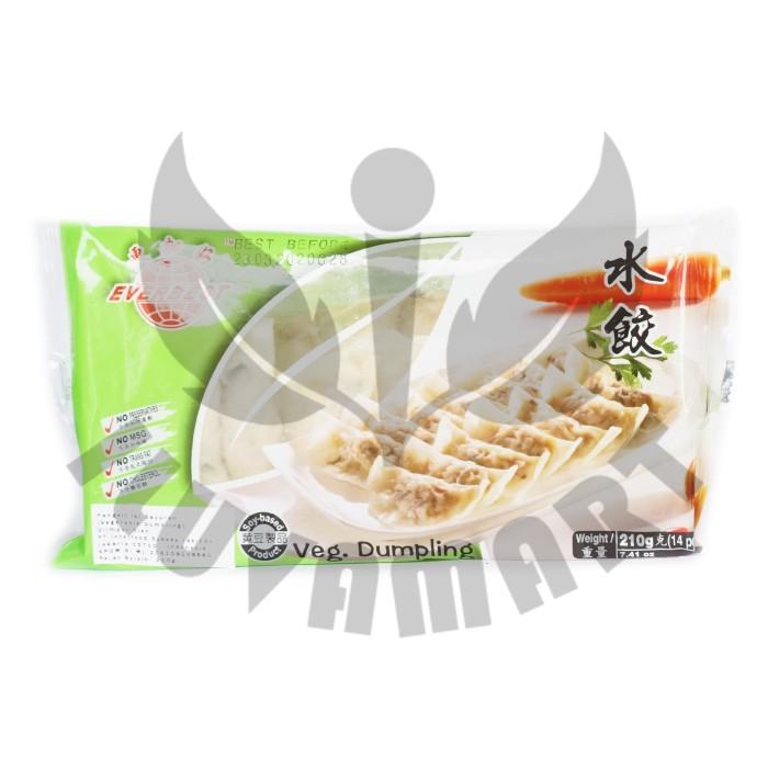 harga Everbest dumpling 14pcs / shui jiao / sui kiau / pangsit vegetarian Tokopedia.com