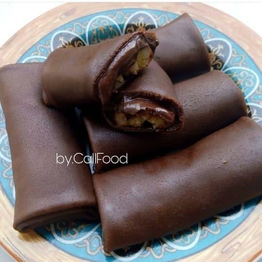 Jual Dadar Gulung Pisang Coklat Kota Bekasi Callfood Tokopedia