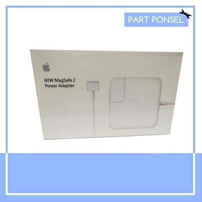 Foto Produk Original Apple 60W Magsafe 2 Power Adapter Charger Retina Display dari Partponsel