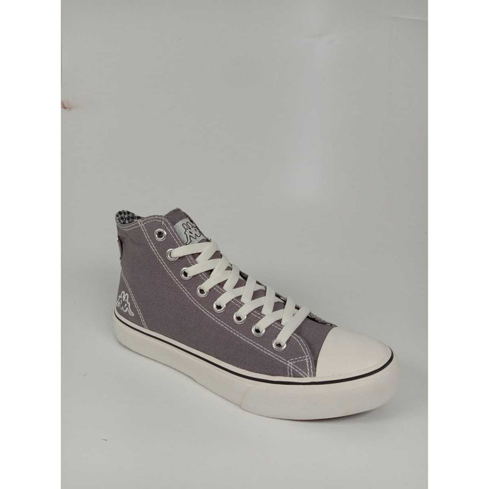eece68d9d8 Jual Kappa Orion Hi Cut Canvas Sneakers-Gray - 38 - - greenlight99 ...
