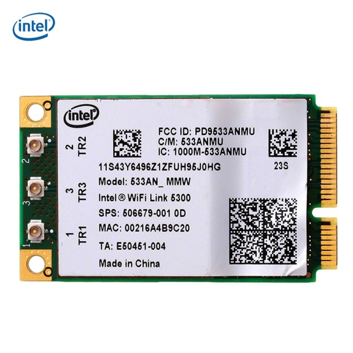 DOWNLOAD DRIVERS: INTEL 5300 WIFI AGN