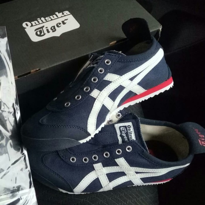 brand new f0004 ba929 Jual Onitsuka Tiger Mexico 66 Slip On TH3KON Original - Kab. Sleman -  Hertomi | Tokopedia