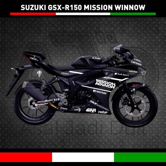 Jual Cutting Stiker Sticker Suzuki Gsx R150 Mission Winnow Kota Tangerang Selatan Asal Jadi Duit Tokopedia