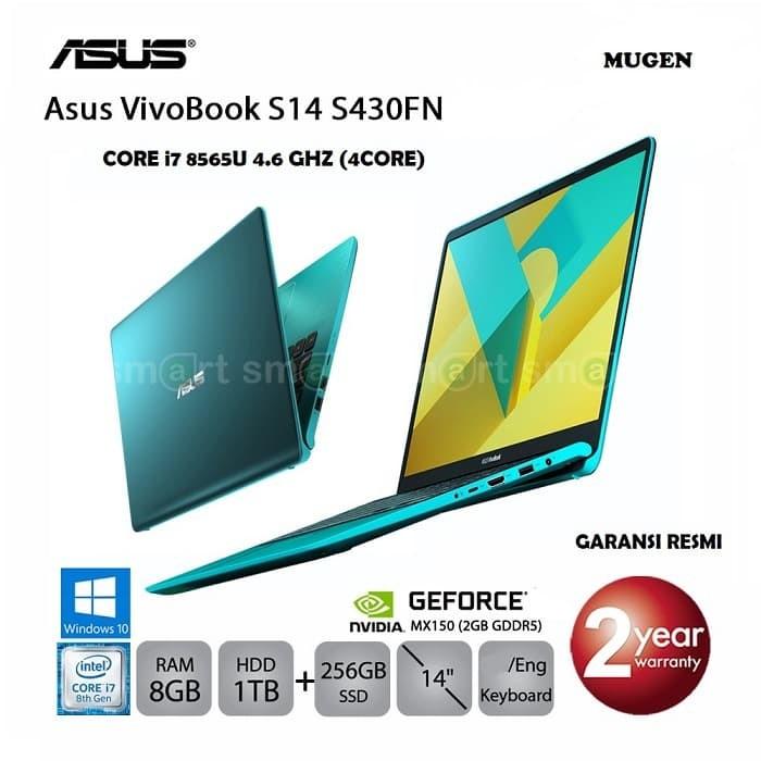 Jual LAPTOP GAMING ASUS S430N i7-8565U NVIDIA MX150 2GB GDDR5 RESMI - Kota  Makassar - SUPERLARISIT | Tokopedia