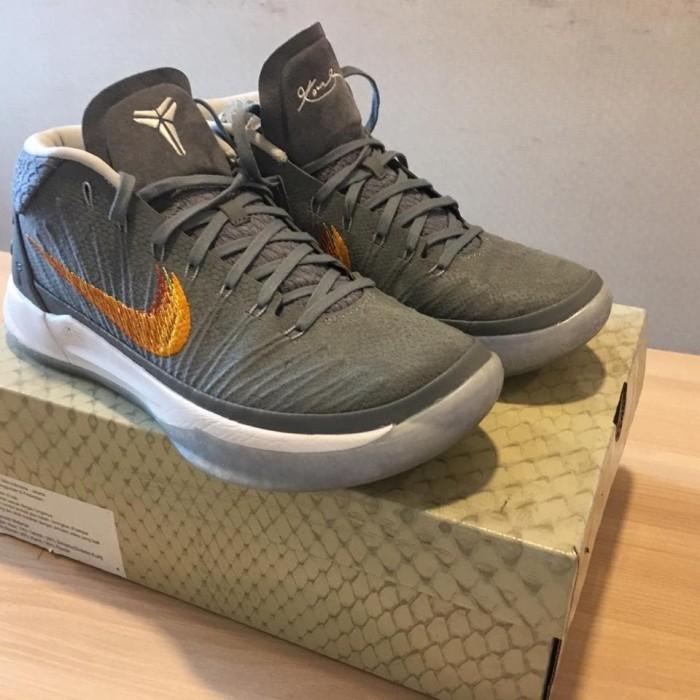 best sneakers 4375a 2ff4b Jual Nike Kobe Mid AD Grey Snake - Kab. Madiun - Flat Foot   Tokopedia