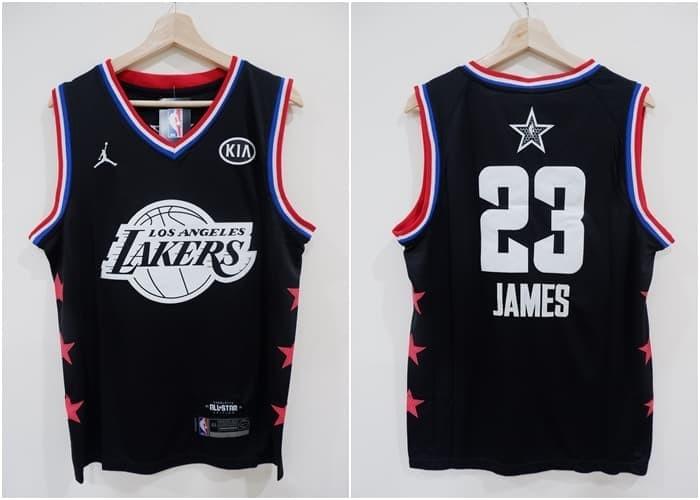 superior quality 30b7c 7299a Jual Jersey Swingman NBA All Star 2019 Team LeBron James Hitam - Kota Batam  - AJ Basketball Store | Tokopedia