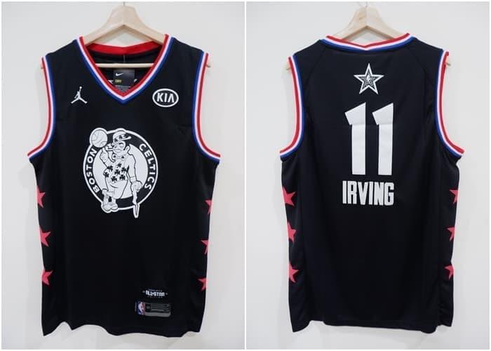new concept f912a ded05 Jual Jersey Swingman NBA All Star 2019 Team LeBron Irving Hitam - Kota  Batam - AJ Basketball Store | Tokopedia