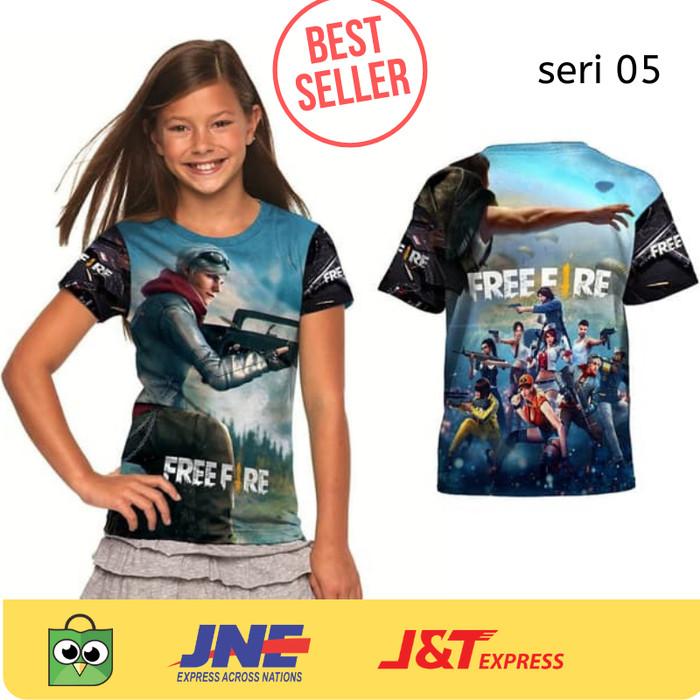 Jual Promo Kaos Baju Tshirt Anak Karakter Game Free Fire 05 Pubg Size 2xl Kota Bandung Warung Kia Bandung Tokopedia