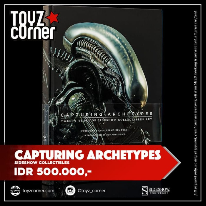 harga [sideshow] capturing archetypes volume 1 Tokopedia.com