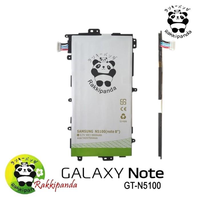 Foto Produk Baterai Rakkipanda For Samsung Note 8 N5100 Double IC Protection dari nohan