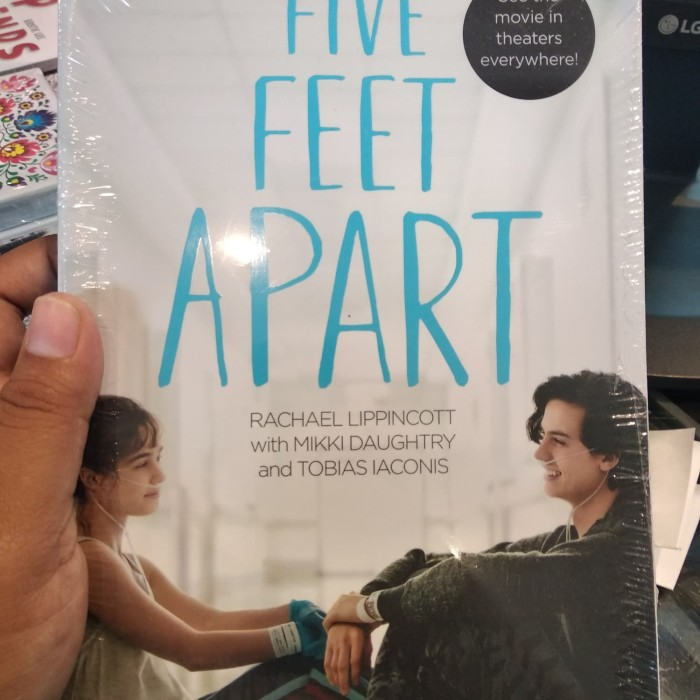 Jual Five Feet Apart Jakarta Barat Mega Book Store Tokopedia