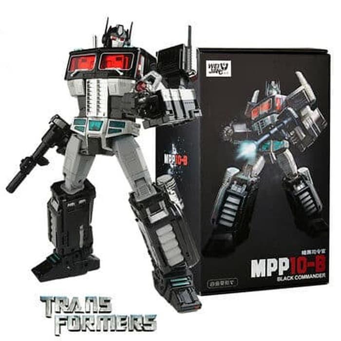 NEW  Deformation toys MPP10B dark version commander optimus prime toy